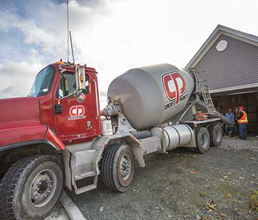 Concrete Products mixing truck