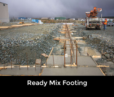 Ready Mix footing
